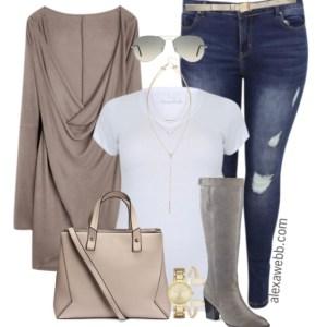 Plus Size Fashion for Women - Plus Size Casual Outfit - Alexa Webb - alexawebb.com - #alexawebb #plus #size #fashion