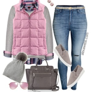 Plus Size Casual Outfit - Plus Size Fashion for Women - Alexa Webb - alexawebb.com