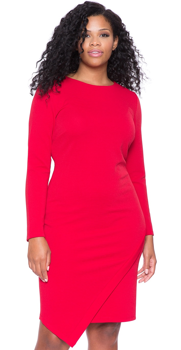 Valentine Day Dresses Red Plus Size