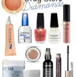 Best Drug Store Beauty Products - My Top Ten - alexawebb.com