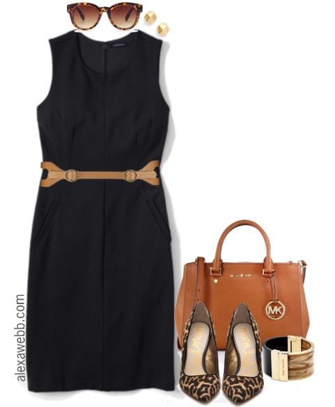 Work Wear Inspiration Plus Size Sheath Dress Alexa Webb