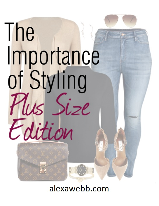 The Importance of Styling Outfits - Plus Size Edition