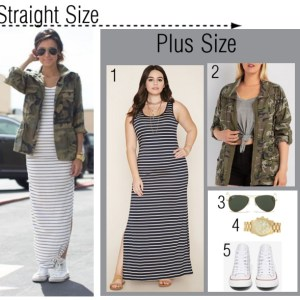 Straight Size to Plus Size Outfit - Plus Size Fashion for Women - Alexawebb.com