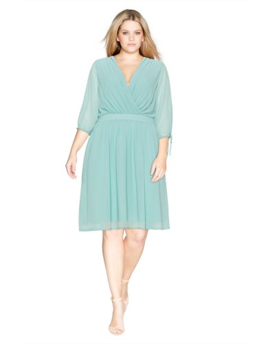 9e3c10680524 33 Plus Size Wedding Guest Dresses  with Sleeves ! - Plus Size Fashion -