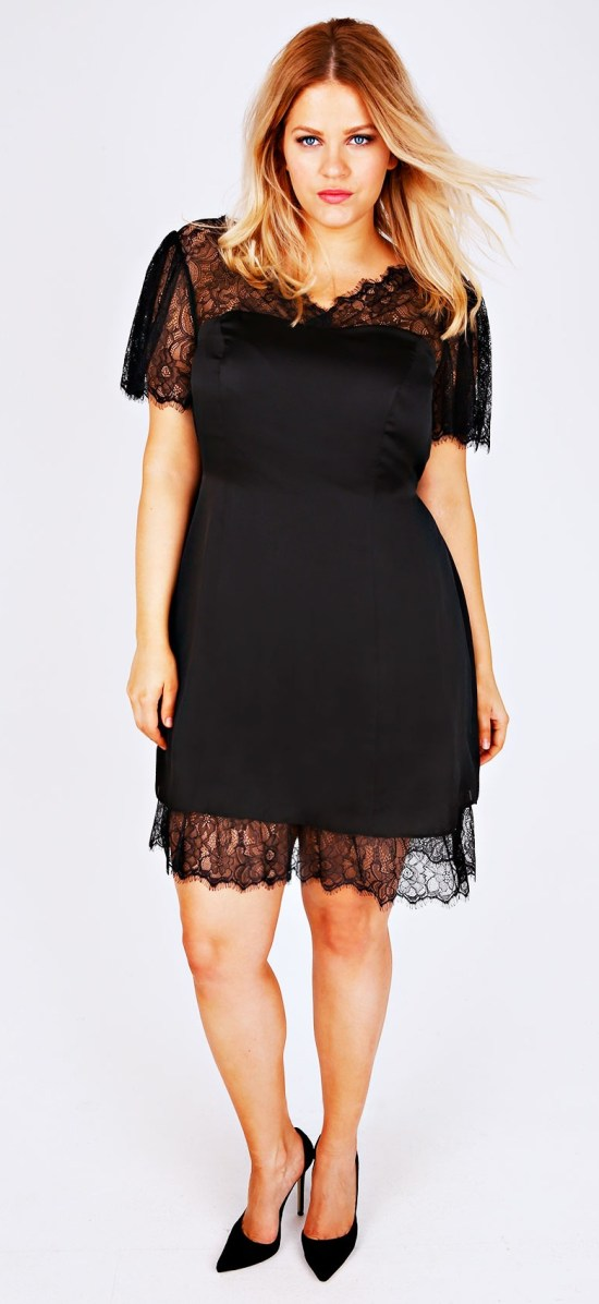 27 plus size wedding guest dresses with sleeves alexa webb for Size 12 dresses for wedding guests