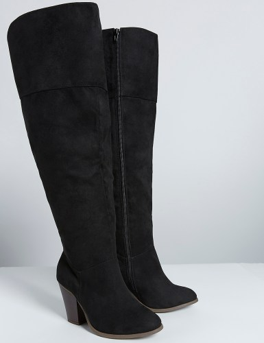 24 Wide Calf Over-the-Knee Boots - Alexa Webb
