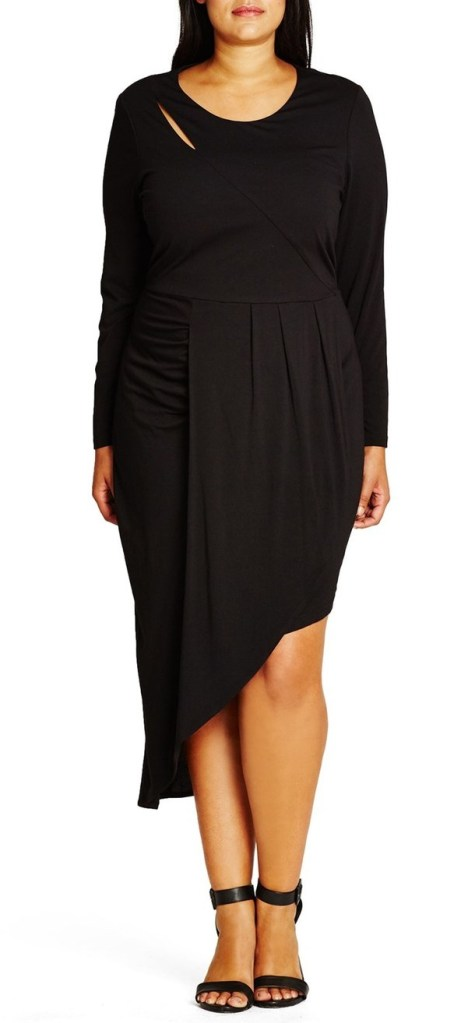 27 Plus Size Party Dresses {with Sleeves} - Plus Size Fashion for Women - alexawebb.com