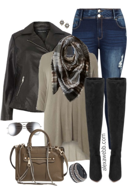 380c1d6b1e5 Plus Size Fall Layers Outfit - Plus Size Fashion for Women - alexawebb.com