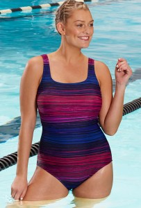 e7839a602e0 Plus Size Swimsuit for Lap Swimming - Plus Size Swimsuit