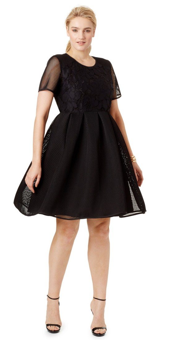 27b79e7eeb07 36 Plus Size Wedding Guest Dresses  with Sleeves  - Plus Size Cocktail  Dresses -