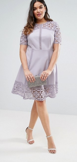 45 Plus Size Wedding Guest Dresses {with Sleeves}   Plus Size Cocktail  Dresses