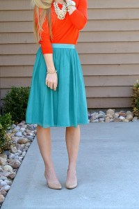 complentary color outfit