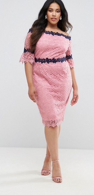 0824b2585213 55 Plus Size Wedding Guest Dresses  with Sleeves  - Plus Size Cocktail  Dresses -