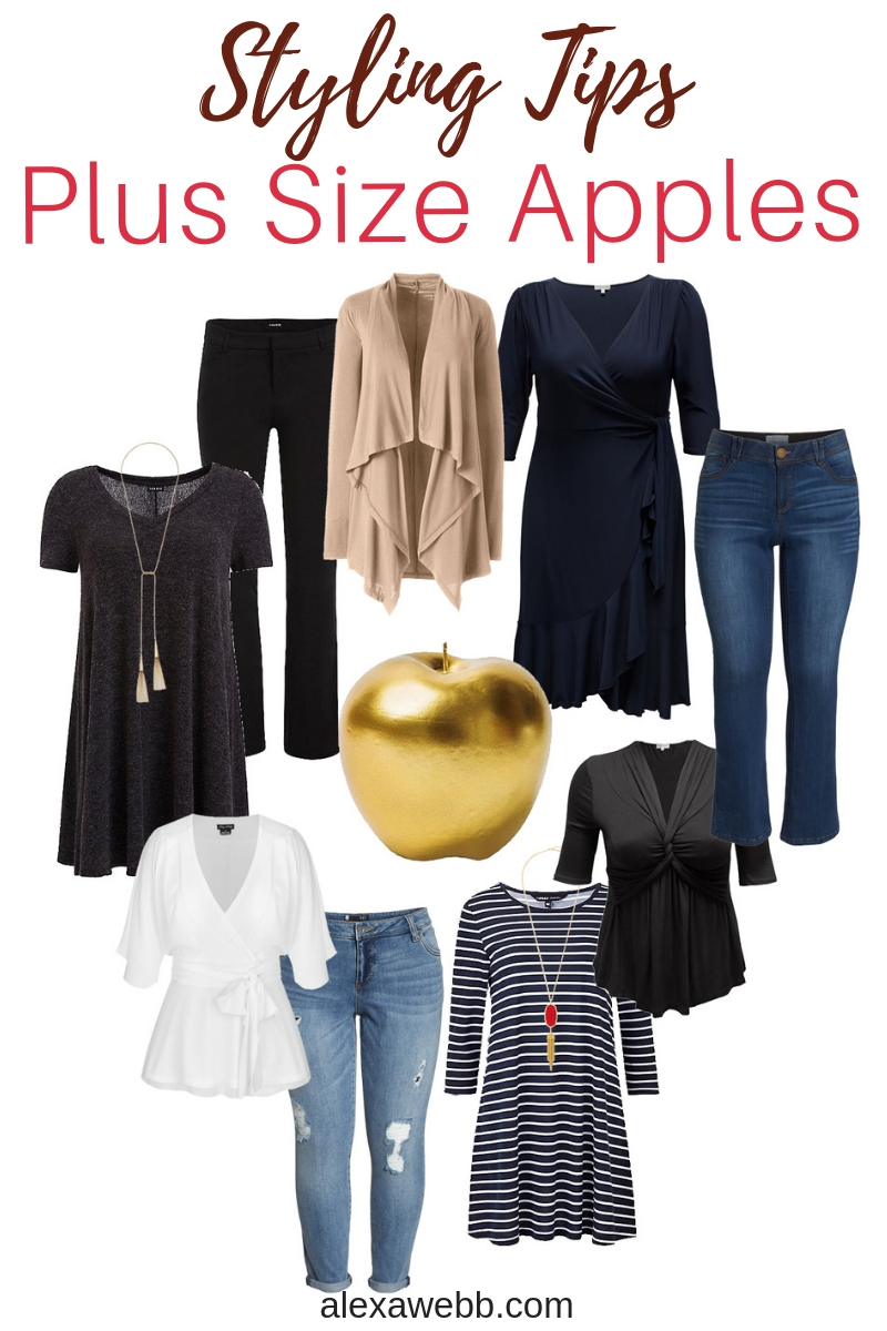 a2e3bf08025 Styling Tips for Plus Size Apple Shapes - Alexa Webb