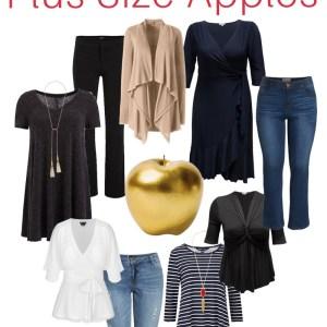 Styling Plus Size Apple Shapes - Apple Shape Outfits Plus Size - Plus Size Fashion for Women - alexawebb.com #plussize #alexawebb