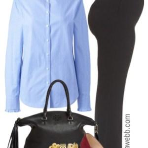 Plus Size Basic Work Outfit, Plus Size Fashion for Women alexawebb.com