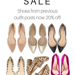 Shopbop Sale - Shoes from previous outfits - alexawebb.com
