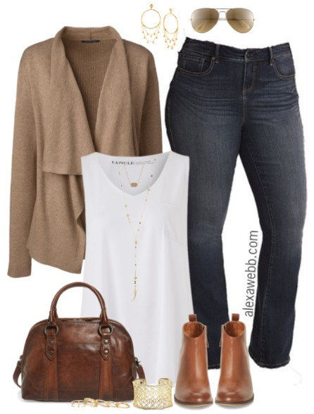 074ea6fe978 Plus Size Fall Cardigan Outfit - Plus Size Fall Outfits - Plus Size Fashion  for Women