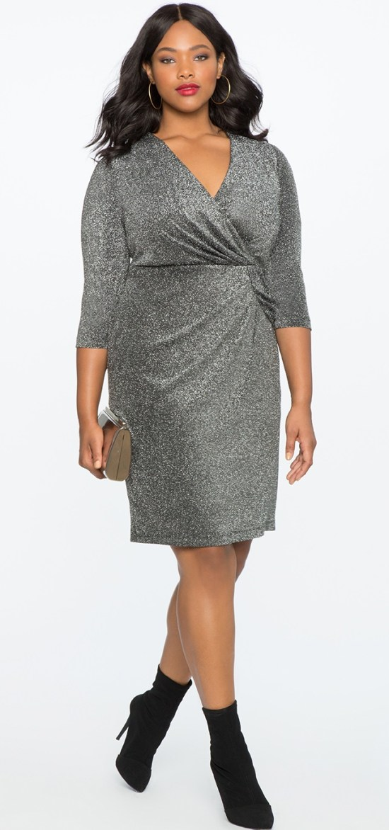 39 Plus Size Party Dresses {with Sleeves} - Alexa Webb