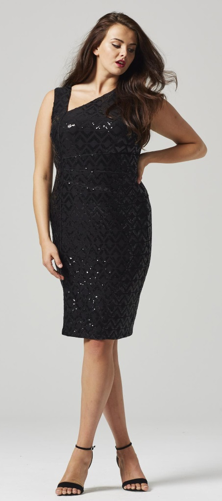 30 Plus Size Sequin Dresses - Plus Size Party Dress - Plus Size Cocktail Dress #plussize #alexawebb #dress