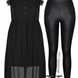 Plus Size Night Out Outfit - Plus Size NYE Outfit Idea - Plus Size Fashion for Women alexawebb.com #alexawebb #plussize