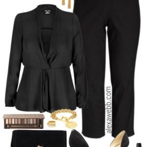Plus Size Dressy with Pants Outfit - Plus Size Fashion for Women - alexawebb.com #alexawebb #plussize