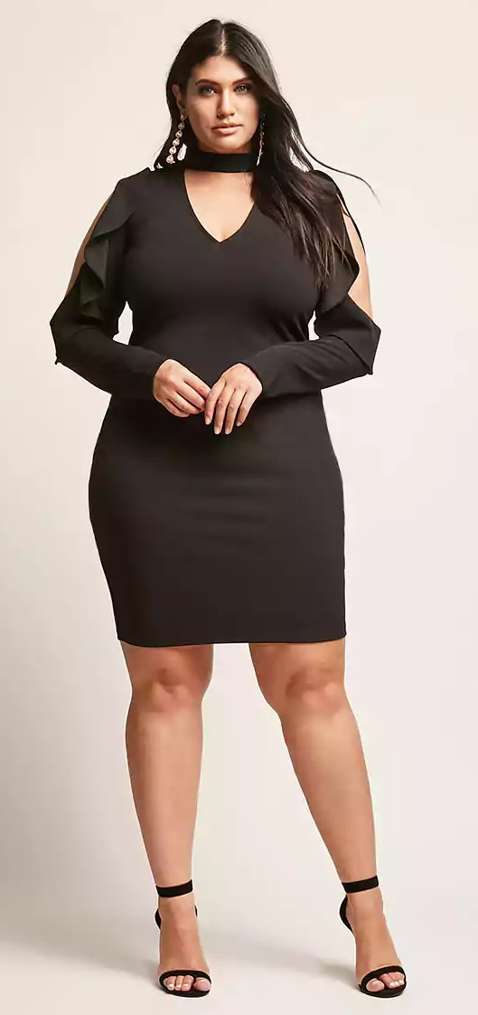 15 Plus Size Party Dresses with Sleeves - Alexa Webb