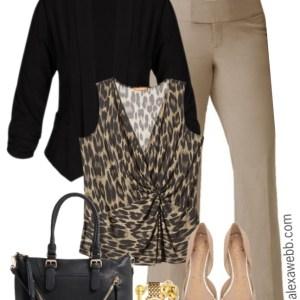Plus Size Trousers Work Outfit - Plus Size Fashion for Women - alexawebb.com #plussize #alexawebb