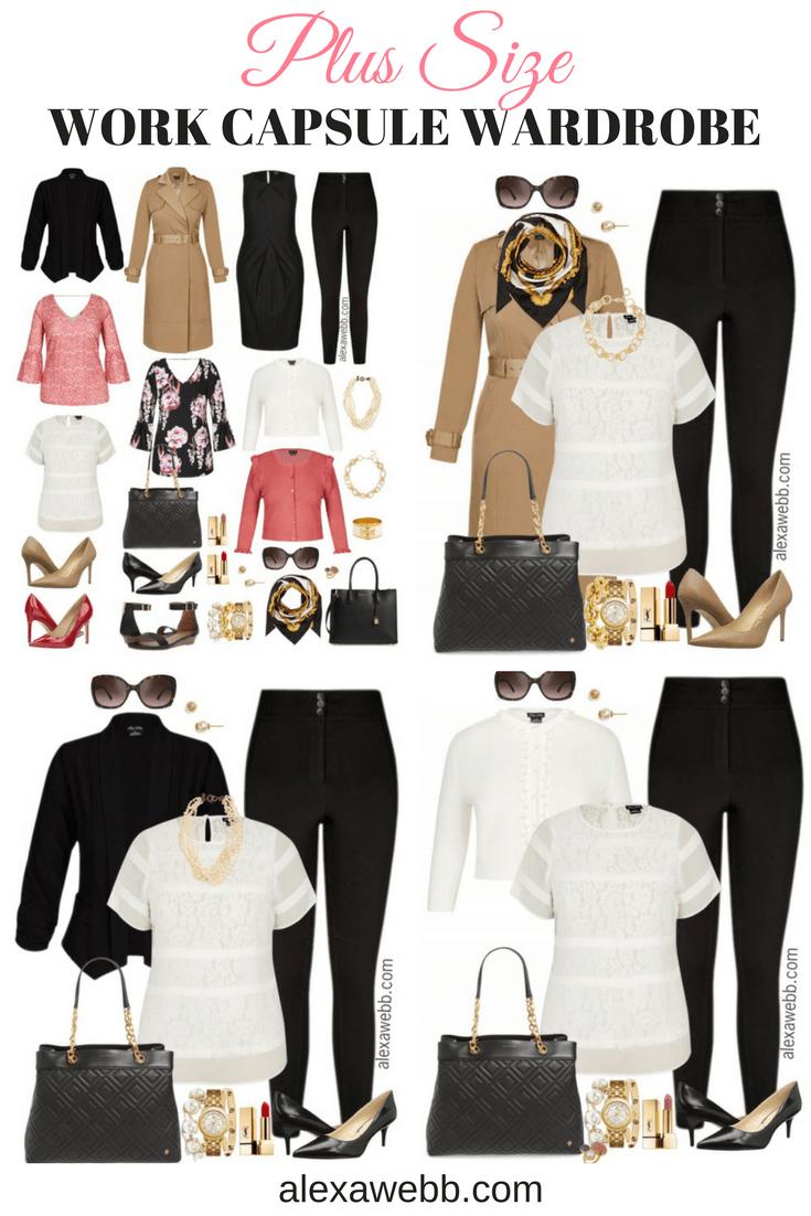9832ff40876 Plus Size Work Capsule Wardrobe – Part IV - Alexa Webb