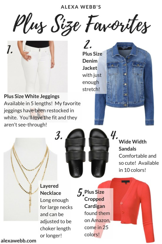 Alexa Webb's Plus Size Favorites for Summer #plussize #alexawebb