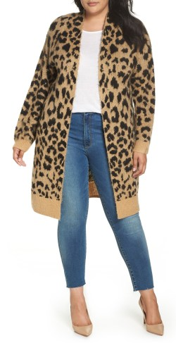 d9403e3768d Plus Size Leopard Cardigan Outfit Ideas - Plus Size Fall Outfits - Plus  Size Fashion for