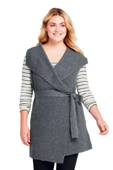 plus size wrap vest outfit ideas alexa webb