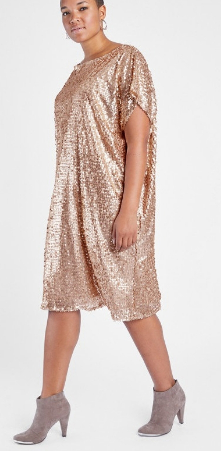 24 Plus Size Sequin Dresses - Alexa Webb