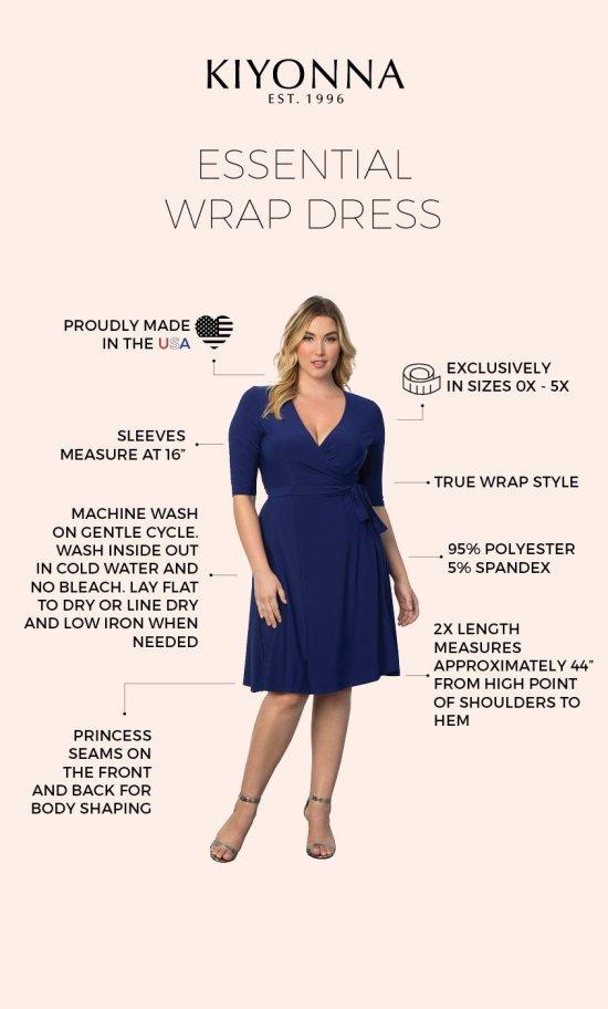 Plus Size Wrap Dress Outfits - Plus Size Fall Winter Outfit Ideas - Plus Size Workwear - Plus Size Fashion for Women - alexawebb.com #plussize #alexawebb