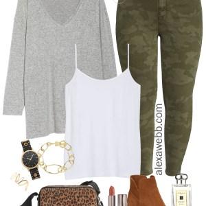 Plus Size Camo Pants - Plus Size Nordstom Sale Picks - Plus Size Fashion for Women - alexawebb.com #plussize #alexawebb