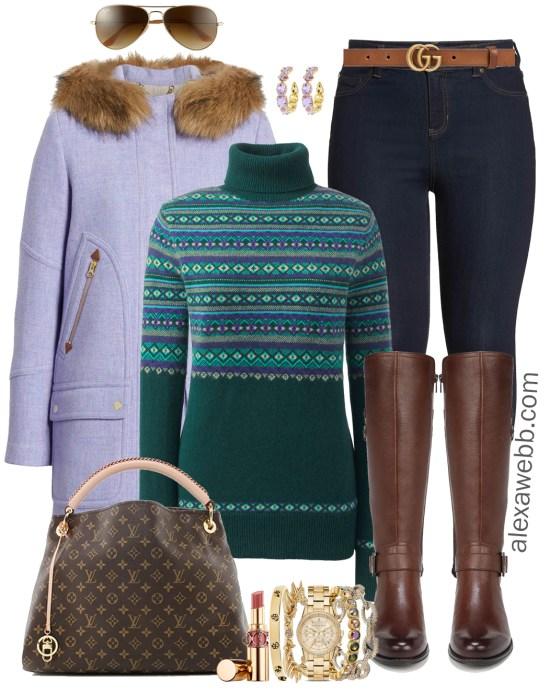 d6de0718d0c7b Plus Size Casual Christmas Day Outfit Ideas - Plus Size Leggings and Boots  - Plus Size