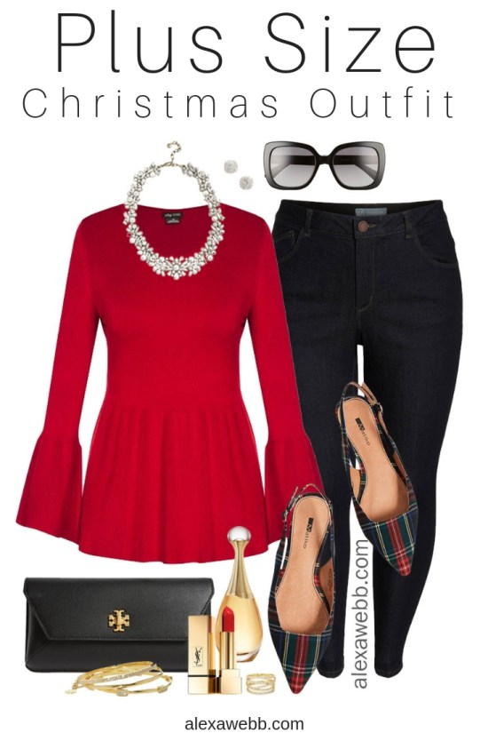 a96f6c50dad71 Plus Size Christmas Outfit - Alexa Webb