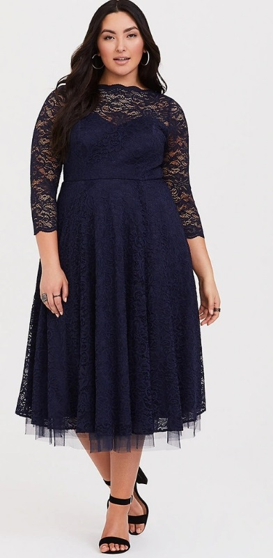8aa4b944646 48 Plus Size Party Dresses with Sleeves - Plus Size Wedding Guest Dresses - Plus  Size