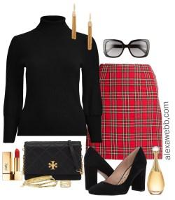 Plus Size Plaid Christmas Outfits - Plus Size Fashion for Women - alexawebb.com