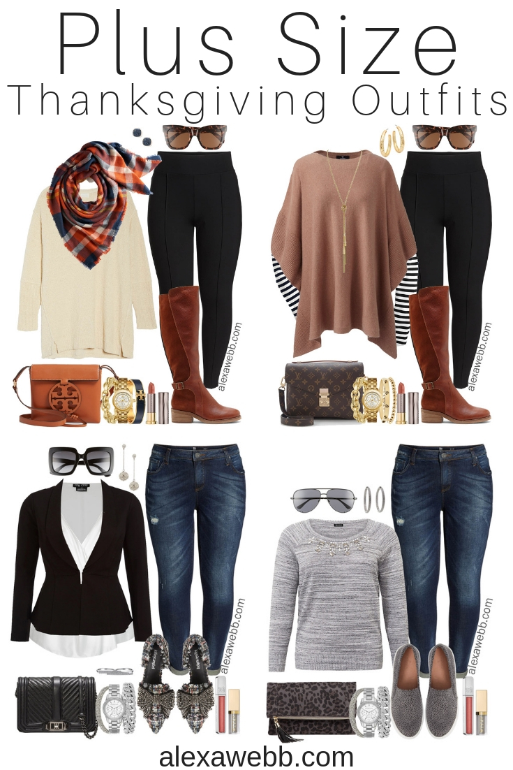 Plus Size Thanksgiving Outfits – Part 2