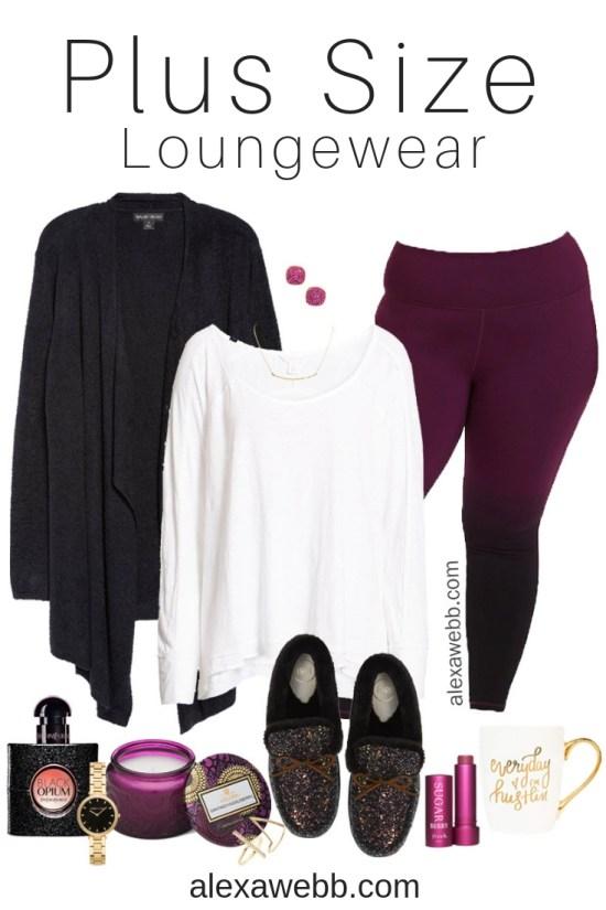 Plus Size Winter Lounge Wear - Alexa Webb