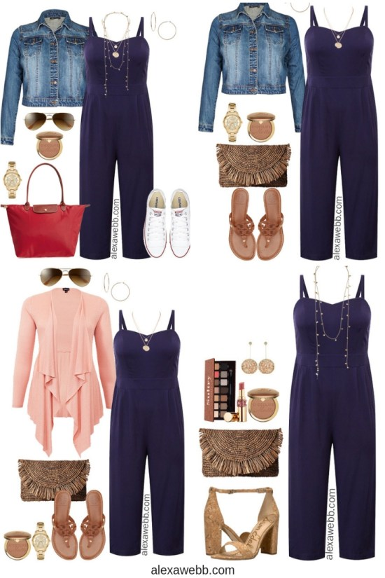 Plus Size Cruise Collection - Jumpsuit Outfits - Plus Size Fashion - Alexa Webb - alexawebb.com #plussize #alexawebb