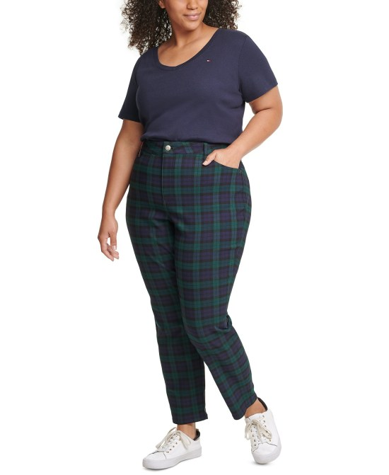 Plus Size Brands to Know - Tommy Hilfiger Plus Sizes -  #plussize #alexawebb