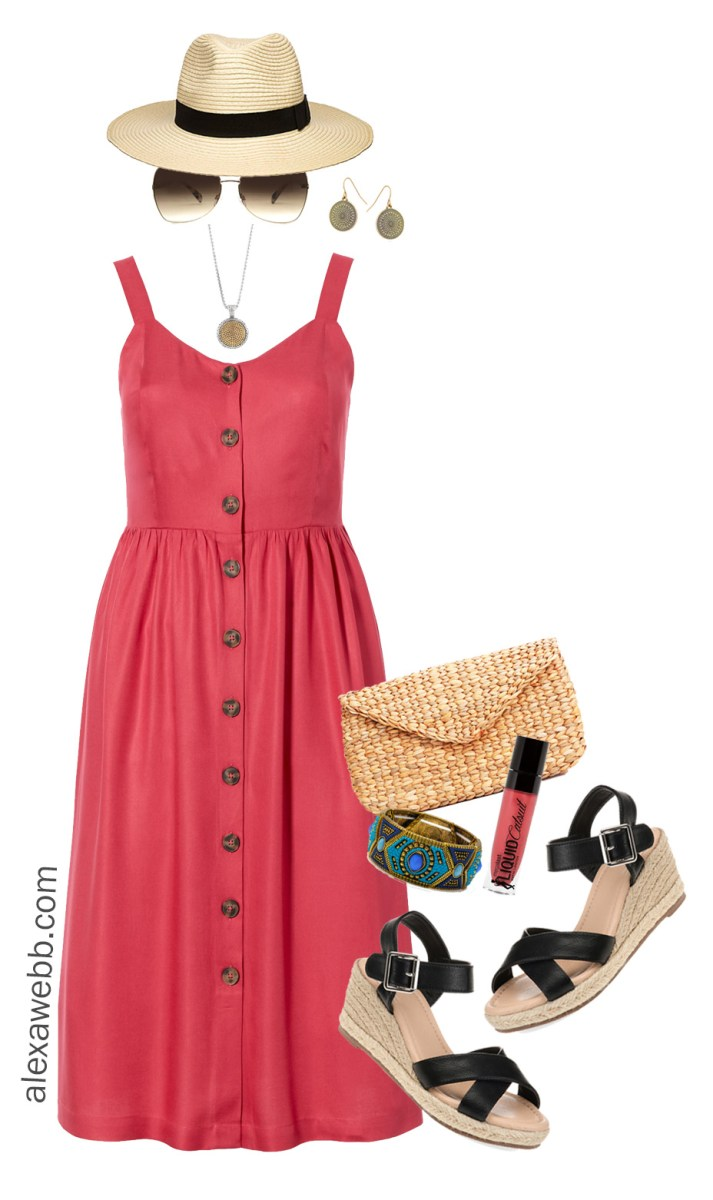 Plus Size Summer Dress Outfit