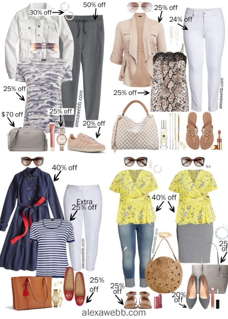 Plus Size Spring Sales - alexawebb.com #plussize #alexawebb