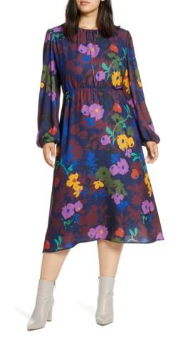 Plus Size Midi Work Dress - Workwear - alexawebb.com #plussize #alexawebb