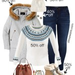 2019 Plus Size Black Friday Deals – Fair Isle Sweater, Hiker Boots, Skinny Jeans, Wool Coat - Alexa Webb