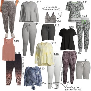 Plus Size on a Budget Lounging Lounge Wear for Staying at Home - Alexa Webb #plussize #alexawebb