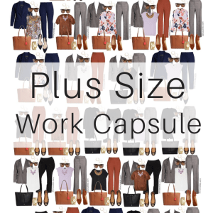 Plus Size Fall Work Capsule Wardrobe - Plus Size Workwear for Fall - Alexa Webb #plussize #alexawebb