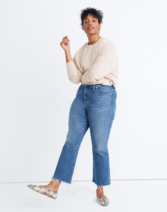 Plus Size Madewell Jeans in Cali Demi-Boot - Alexa Webb
